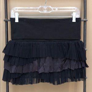 Free People Ruffled Mini Skirt